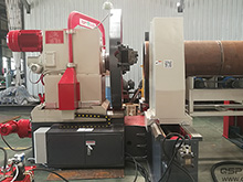 Axial Pipe End Beveling Machine
