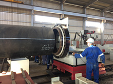Pipe Fabrication Fast Fitting Up Machine