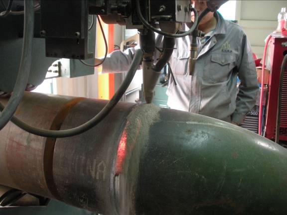 Saw Piping Welding Machine Qspt Cover Welding Equipment